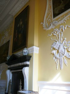 Exquisite fine plaster work