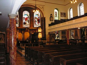 Wesleys Chapel interior